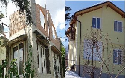 реконструкция - къща